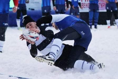 Всероссийские соревнования «Рождественский турнир» по регби на снегу