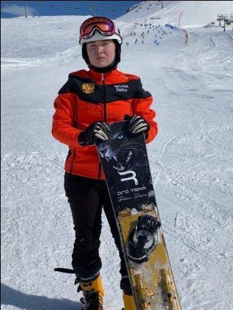 Первенство России среди юниоров по сноуборду