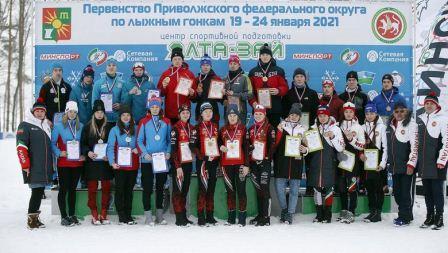 Первенство ПФО среди юношей и девушек по лыжным гонкам