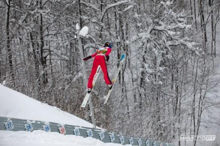 Всероссийские соревнования «Снежный Барс» по лыжному двоеборью