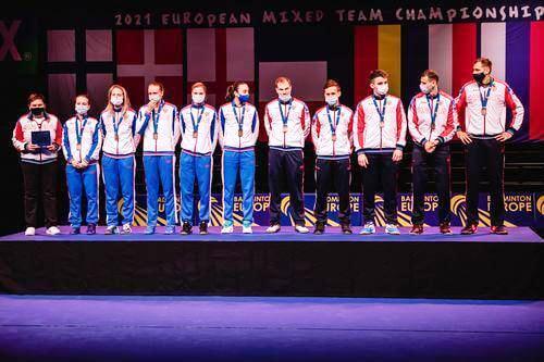 Чемпионат Европы 2021 среди смешанных команд  по бадминтону