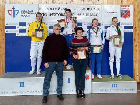 Всероссийские соревнования среди юниоров по фехтованию