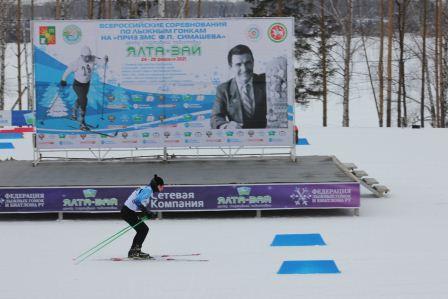 Всероссийские соревнования среди юношей и девушек 17-18 лет на призы ЗМС Ф.П. Симашева по лыжным гонкам