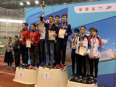 Всероссийские соревнования по легкоатлетическому четырехборью «Шиповка юных» в помещении