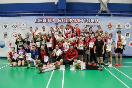 Всероссийские рейтинговые соревнования по бадминтону «Крылатый Зилант»