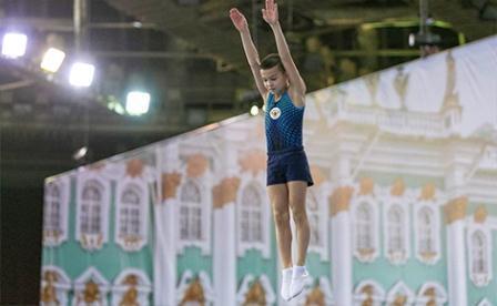 Всероссийские соревнования «Надежды России» по прыжкам на батуте