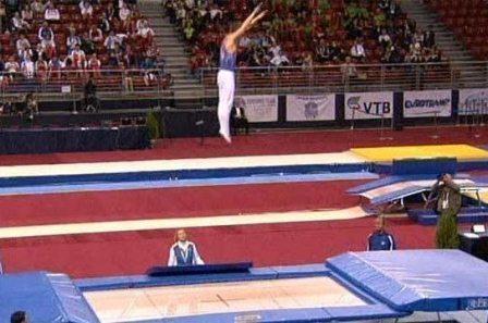 Всероссийские соревнования «Надежды России-2» по прыжкам на батуте и АКД