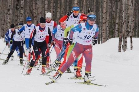 Всероссийские соревнования по лыжным гонкам