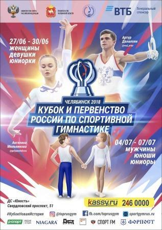 Кубок и первенство России по спортивной гимнастике