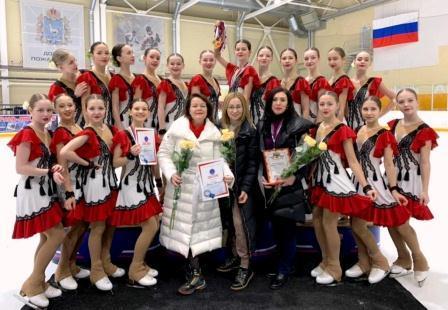 Первенство России, Всероссийские соревнования «Сызраночка» по синхронному фигурному катанию на коньках