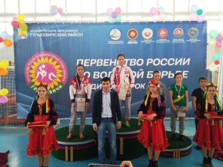 Первенство России среди юниорок по женской борьбе