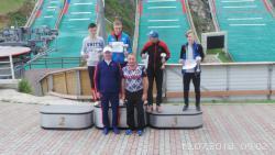I этап Кубка России по прыжкам на лыжах с трамплина