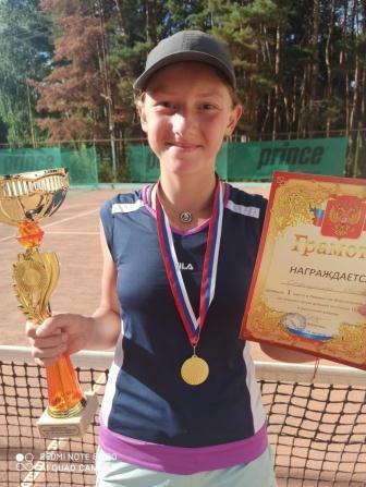 Турнир серии РТТ «Первенство Воронежской области» среди юношей и девушек до 15 лет по теннису