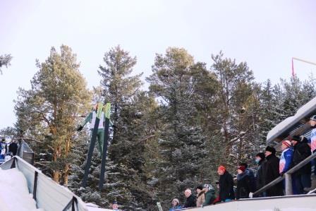 Всероссийские соревнования «Прикамские искорки 2021» по лыжному двоеборью
