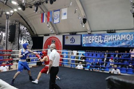 Всероссийские соревнования общества «Динамо» среди юниоров по боксу