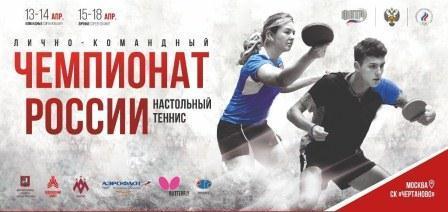 Чемпионат России 2021 по настольному теннису