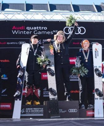 Первенство мира среди юниоров по сноуборду