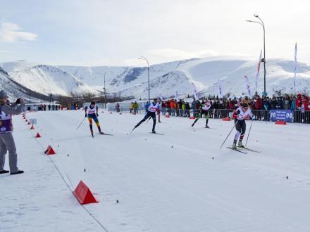 Всероссийские соревнования «Хибинская весна» по лыжным гонкам