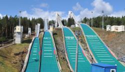 Всероссийские соревнования «Малахитовая шкатулка» по прыжкам на лыжах с трамплина