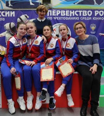 Первенство России среди юниоров по фехтованию