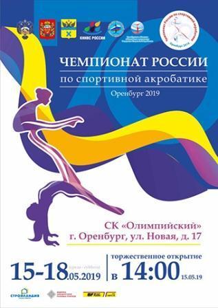 Чемпионат России по спортивной акробатике