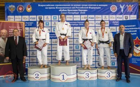 Всероссийские соревнования на призы Вооруженных Сил Российской Федерации «Кубок Ярослава Керода» по дзюдо