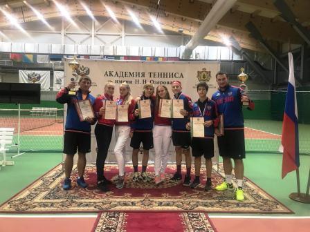 Командное первенство России среди юношей и девушек по теннису