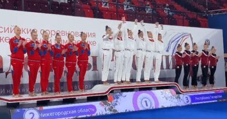 Всероссийские соревнования «Надежды России» среди девушек 13-15 лет по художественной гимнастике