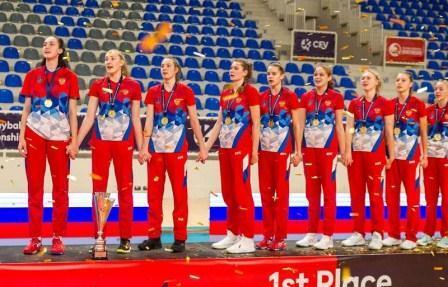 Первенство Европы среди девушек до 17 лет по волейболу