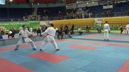 Всероссийские соревнования по каратэ «Малахитовый пояс»