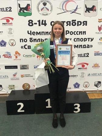 Чемпионат России «Свободная пирамида» по бильярдному спорту
