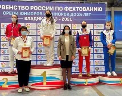 Первенство России среди молодежи по фехтованию