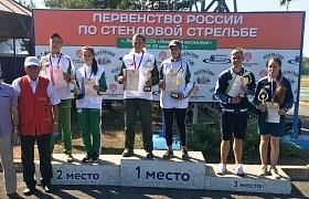 Лично-командное первенство России среди юниоров до 19 лет по стендовой стрельбе