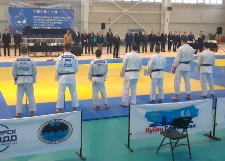 Всероссийские соревнования «На призы Вооруженных сил РФ» среди юниоров по дзюдо
