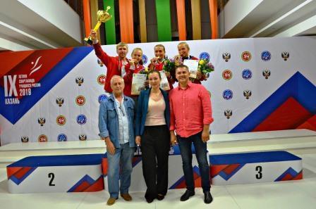 Финал IX летней Спартакиады учащихся России по теннису