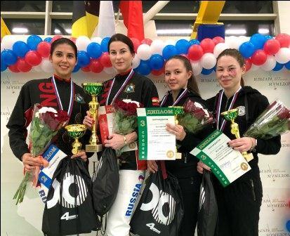 Всероссийские соревнования по фехтованию