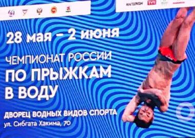 Чемпионат России по прыжкам в воду 2021