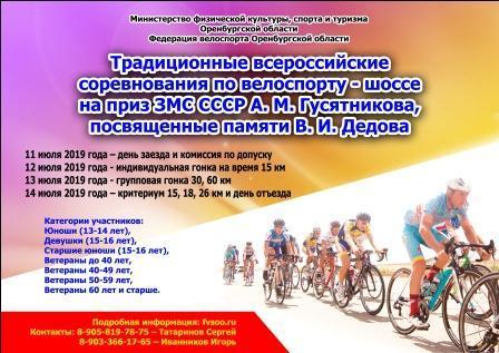 Всероссийские соревнования на призы ЗМС СССР А.М. Гусятникова по весоспорту на шоссе