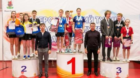 XIV Всероссийский юношеский турнир «Казанская ракетка» по настольному теннису