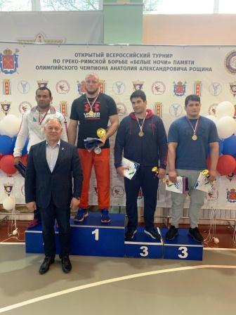 Всероссийский турнир «Белые ночи» по греко-римской борьбе