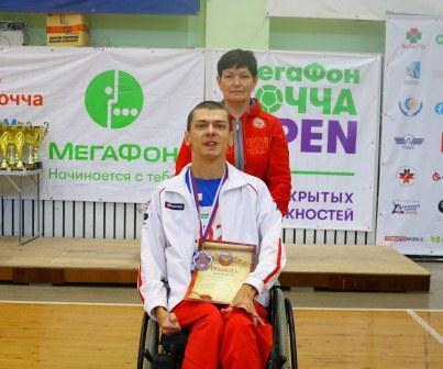 Чемпионат России по бочче среди лиц с ПОДА