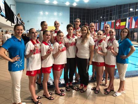 Международные соревнования «CHRISTMAS PRIZE PRAGUE» по синхронному плаванию