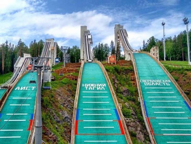 Всероссийские соревнования «Малахитовая шкатулка» по лыжному двоеборью