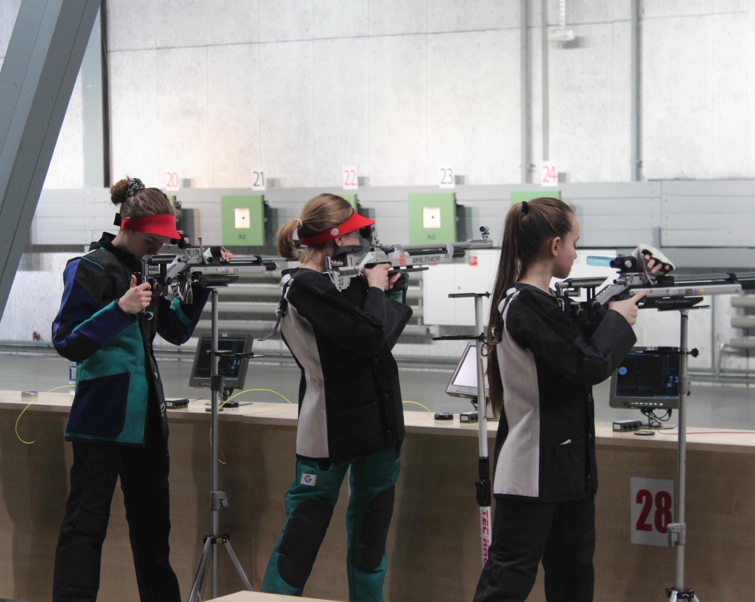 Финал IX летней Спартакиады учащихся России по пулевой стрельбе