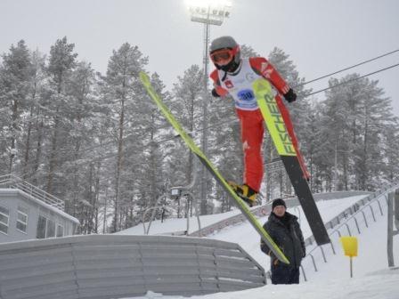 Первенство России среди юниоров до19 лет по прыжкам на лыжах с трамплина
