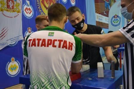 Всероссийские соревнования «Кубок Урала» по армрестлингу