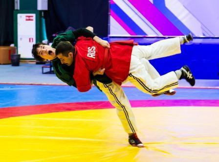 Чемпионат России по борьбе корэш