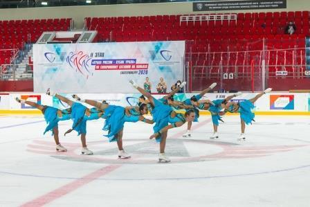 II этап Кубка России и Всероссийские соревнования «Кубок Урала» по синхронному фигурному катанию на коньках