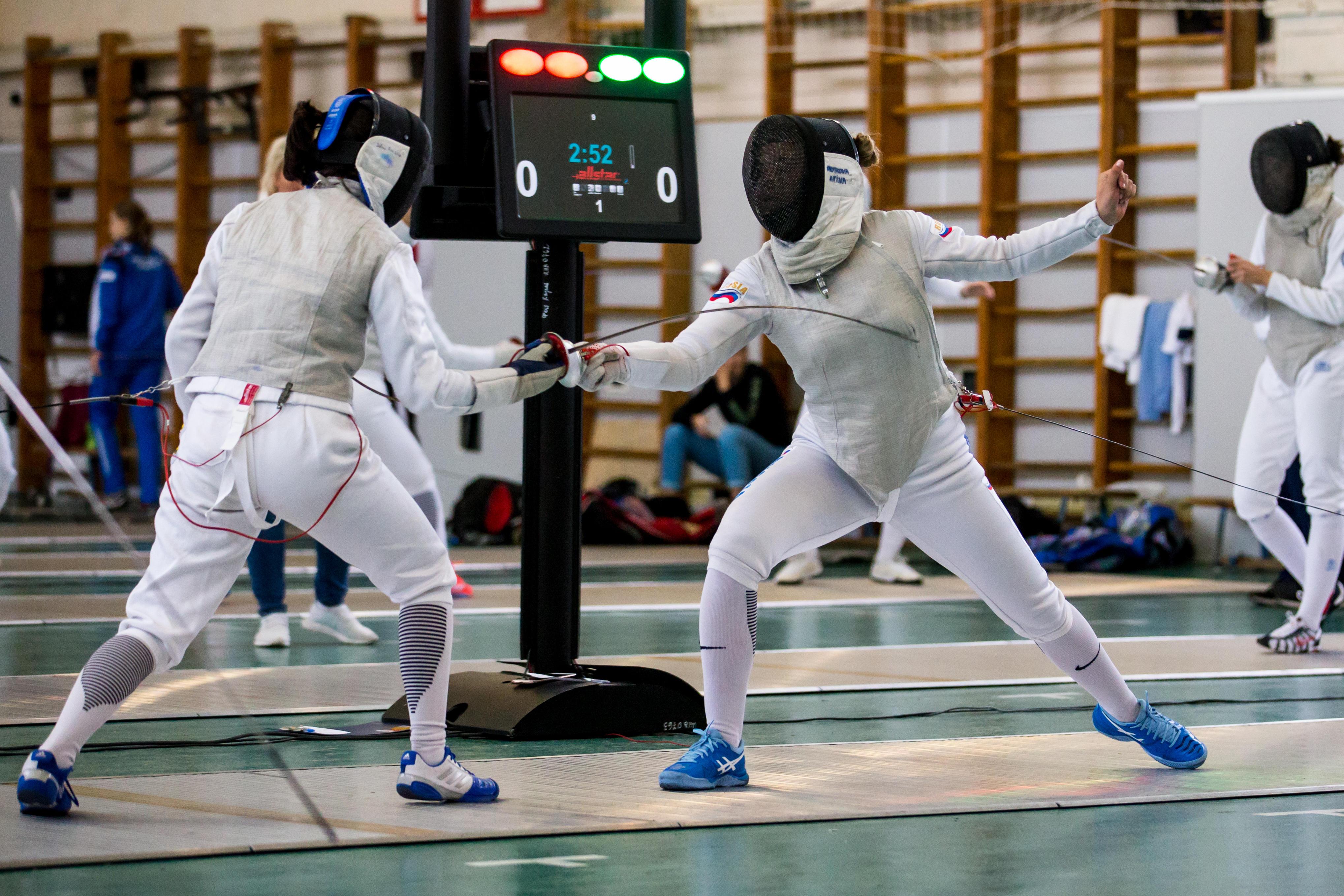 Всероссийский турнир сильнейших по фехтованию на рапирах среди юниорок