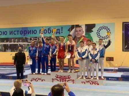 Всероссийские соревнования среди студентов по спортивной гимнастике